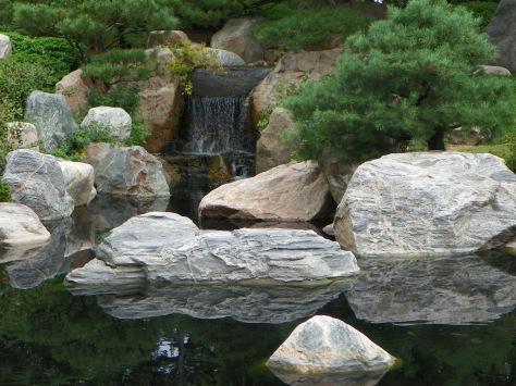 Waterfall at Japanese Gardens
