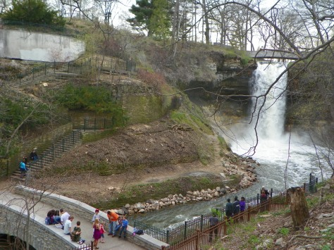 Minnehaha Falls from Steps